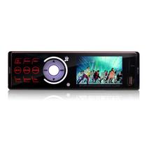 Rádio Mp5 Automotivo Touch Usb Sd Videos Dvd Lcd Tela 3.0