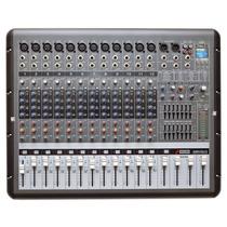 Mesa Arcano Amplificada Armr12-fx 1300 Watts Grava No Usb