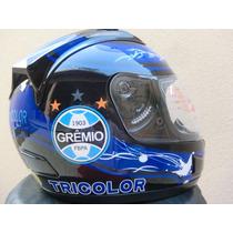 Capacete Grêmio Imortal Tricolor Jd2 Helmet 2012-2013 Gaúcho