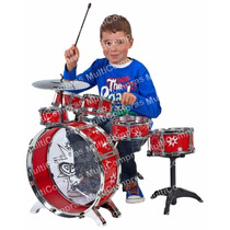 Batería Musical Niños Infantil Drum Instrumento Niña Juguete