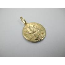 Vistosa Medalha São Bento - Ouro 18k - 4.28 Gr