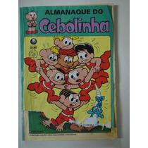 Almanaque Do Cebolinha Nº77 - Gibi Hq Revistinha Globo Usado