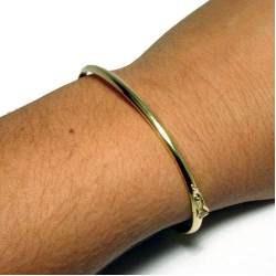 Monreale Bracelete De Ouro 18k Com Trava De Segurança - R  749,90 em  Mercado Livre 3a0f83ac80