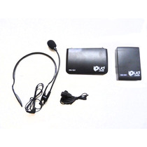 Microfone Sem Fio Headset Auricular - Loud Wm1001 - Fm - 30m