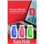 Pack 3 Pendrive 8gb Cruzer Blade Sandisk - Prophone<br><strong class='ch-price reputation-tooltip-price'>$ 9.990</strong>