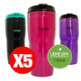 Pack 5 Mug Termicos Outdoor Acero Inoxidable Keep<br><strong class='ch-price reputation-tooltip-price'>$ 17.500</strong>