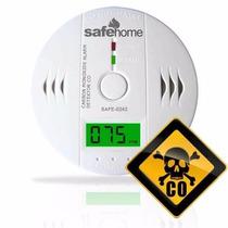 Alarma Detector De Monóxido De Carbono Autónomo Fac. A Y B.
