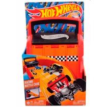 Educando Hot Wheels Racing Case Pista Lanzadora 4 Track Tv
