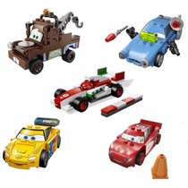 Mc Queen Mate Finn Jeff Francesco Cars Disney Carros Lego