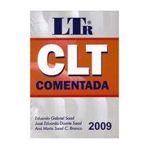 Clt Comentada Ltr 42ª Edição 2009 Eduar Saad - Frete Grátis