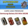 Capa Case Samsung Galaxy Mini S3 / I8190 + Película Fosca
