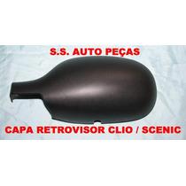 Capa Retrovisor Espelho Clio Scenic 99 Á 2012 Original
