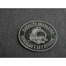 Distintivo Emborrachado Mergulho A Ar E Resgate Do Exército