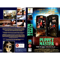 Dvd Puppet Master 1 I El Titere Horror Terror Gore Clasica