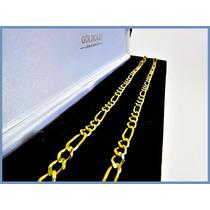 Cadena Oro Amarillo Solido 14k Mod. Cartier De 4mm 15grs Acc