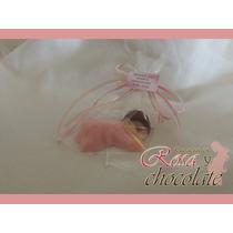 Recuerdos De Chocolate Para El Nacimiento Del Bebé 10 X $85