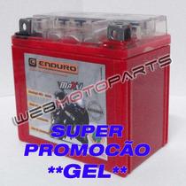 Bateria Gel Moto Honda Cg 125 Titan 150 Biz C100 Bros Nxr Ks