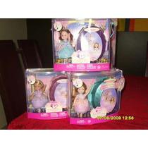 Barbie 3 Kellys 12 Princesas Bailarinas Ou Magia De Aladus