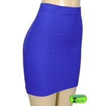 Mini Saia Bandagem A Melhor Moda 2013 Online Diversas Cores