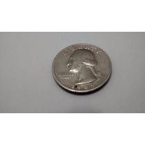 Promoção!!!! Moeda Antiga Raridade Eua Quarter Dollar 1985
