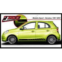 Kit Adesivo Nissan March - Sport / Nismo S-tune - Exclusivo