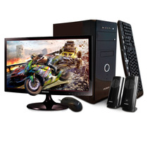 Pc Cpu Computadora Completa Dual Core 4gb 500gb + Monitor 19