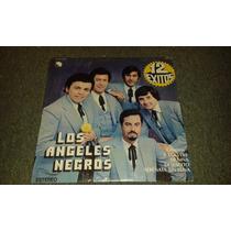 Disco Acetato De Los Angeles Negros 12 Exitos