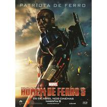Poster Cartaz Homem De Ferro 3: Patriota De Ferro