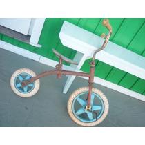 Velocípede Antigo Brinquedo Antiga Bicicleta Infantil