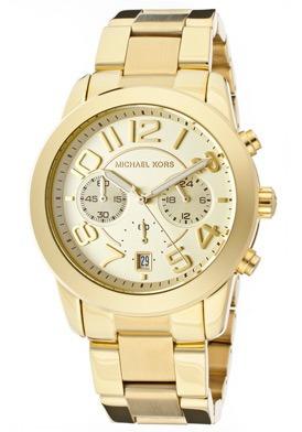 47e511de60000 Relógio Michael Kors Mk5726 Dourado - Completo Original - R  449
