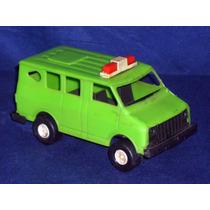 Carrinho Verde Do Caminhão Cegonha Da Meplastic Dos Anos 80