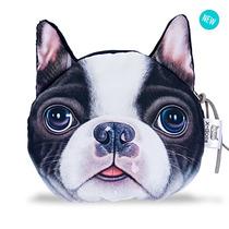 Monedero Bolsito Perro Pug   Bulldog Francés Original