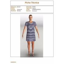 Vendo Kit Com 6 Moldes / Modelagem Vestidos Em Malha - Promo
