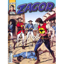 Zagor Nº 95 - Na Pista Do Inimigo - Mythos - Redwood