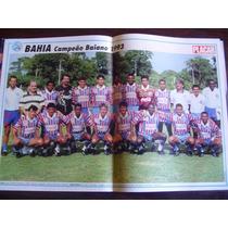 Poster Bahia Campeão Baiano 1993 Placar Frete Gratis