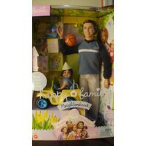 Barbie Happy Family Alan & Ryan Nao Gravida Muito Rara