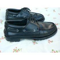 Zapato Cuero Hombre Leñador Escolar Colegio Nº 37