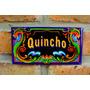 Chapa Retro Vintage Filete - Quincho - 25 X 15 Cm