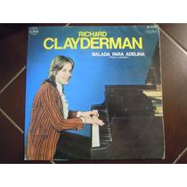 Richard Clayderman Lp Balada Para Adelina Piano Y Orquesta