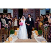 Vestido De Noiva - Estilista Fernando Peixoto - Swarovisk