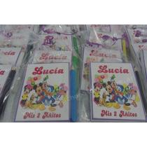 Anotadores Violetta,personalizados Souvenirs Cumpleaños