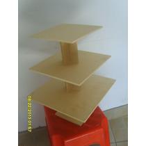 Torres Para Muffins-mdf-fibrofacil-$80 (torre Cuadrada)