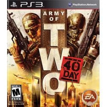 Army Of Two : The 40th Day Ps3 Lacrado, Envio Sedex A Cobrar