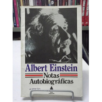 Livro - Notas Autobiográficas - Albert Einstein