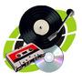 Conversão De Disco Vinil Lp E Fita K7 P/cd - Leia O Anúncio