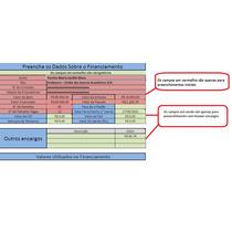 Planilha Cálculo Revisional Financiamento/revisão Contrato