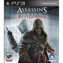 Jogo Usado Assassins Creed Revelations + 1 Português 3d Ps3