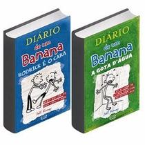 Diário De Um Banana Volumes 2 E 3 - Capa Brochura