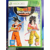 Jogo Dragon Ball Z Budokai Hd Collection Xbox 360, Original