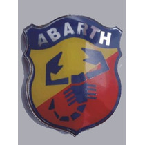 Emblema Escudo Abarth - Fiat Stilo- Vm Commerce